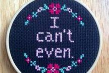 Sew Fun | Cross Stitch / cross-stitching