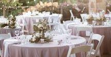 decor ideas | romantic wedding / Inspiration photos for romantic & soft wedding decor.