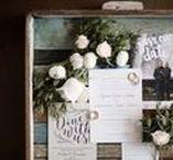 decor ideas | rustic wedding / Inspirational decor photos for rustic chic weddings.