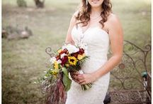 bridal look | rustic / Inspiration images for rustic chic brides.