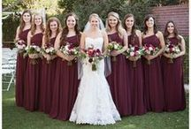 bridesmaid look | bold / Inspiration photos with a bolder bridesmaid look.