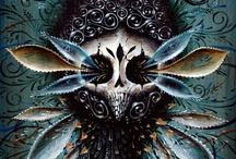 SKULLS & SKELETONS / Skulls and skeletons