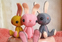 BUNNIES & RABBITS / Bunnies in all shapes and sizes...