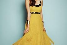 Dresses/Skirts-Yellow / by Jessie Richburg