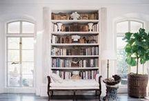 Bookshelves / by Red Barn Mercantile