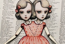 PAPER DOLLS / Articulated paper dolls