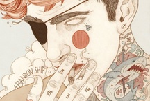 PRETTY IN INK : ILLUSTRATION / Tattoos in illustrative artwork