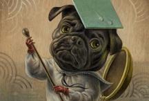 DOGS / Dogs in art...