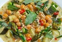 Vegetarian food / Vegetarisk mat