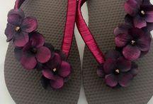 Designer Flip Flops / by Sharon Sullivan-Gomez
