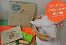 Mrs Fox's Crafty Boxes / Things we and our lovely crafty little foxes have made