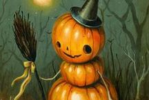 ART : HALLOWEEN / Halloween inspired art and toys