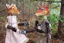 FOXES / Foxes in all shapes and sizes