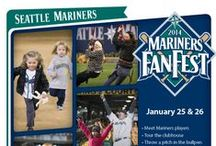 Mariners FanFest To-Do List / Join us on January 25 & 26 (11am-4pm). Tickets are $10, kids 14 & under FREE. Tickets at Mariners.com/FanFest
