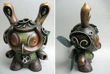 TOYS : CUSTOM DUNNY / A board dedicated to customized Dunnies that I would like to have in my art toy collection.