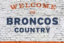 Denver Broncos/Colorado / by Jessie Richburg