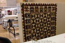 Organizing Quilt Studio or Quilt Shop / Ideas, Projects and Products to keep your sewing studio tidy and increase functionality.