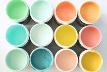 Kleur ♥ Color Moodkids / Van kleuren word je blij! Kleur palet en inspiratie / by MoodKids