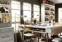 Offices / Hobby Rooms / by Heather Marie