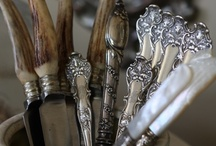 Antique Cutlery, & Table Service