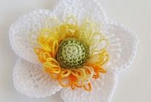 Crocheted flowers / by Claudia Humphrey