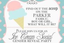 Pink or Blue?!  / Gender reveal party ideas!