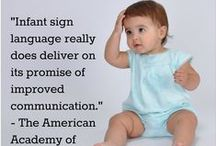 Baby Sign Language / Images and information about baby sign language