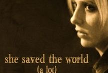 She saved the world. A lot / Buffy stuff goes here.  / by Kelly R.