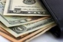 All about the Benjamin's. / Money related stuff here. Tips tricks saving budgeting  / by Kelly R.