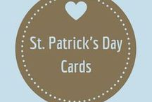 St. Patrick's Day Cards / Cards with a wee bit of green to celebrate St. Patrick's day.