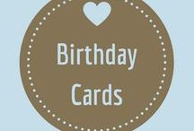 Birthday Cards / Wish someone a very happy birthday, cake day, or even hippo bird day!  Remember it only comes around once a year.