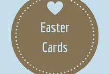 Easter Cards / Cards with Bunnies and Eggs and Flowers and Chics and Candy and all things Easter!