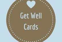 Get Well Cards / Is someone that you know not feeling that well?  Did something happen that they are working on recovering from?  Maybe a get well or feel better card will bring a smile to their face!