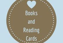 Books and Reading Cards / These cards are perfect for anyone who loves books and reading.  They are blank cards so you can use them for anything notes, Thank yous, Birthdays, etc,