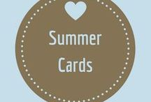 Summer Cards / Cards to celebrate the fun of summer