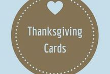 Thanksgiving Cards / Cards to celebrate Thanksgiving Day
