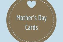 Mothers Day Cards / She held you next to her heart for nine months. Cards to show her how much she or the other women in your life who you celebrate on this day mean to you!