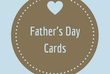 Father's Day / Cards to show dad that you love him as much as he loves you, or at least as much as you feel comfortable expressing once a year!