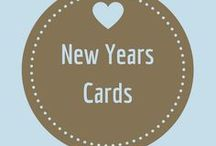 New Years Cards / Ring in the new year with a bit of cheer and a card that lets them know how much you care!