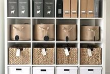 organizeorganizeorganize / inspiring and aesthetically-pleasing images and ideas for household organization and clutter control