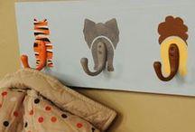 Craft kids decoration / Dale un toque distinto a la habitación de los más peques con poco coste, mucha ilusión y más inspiración.