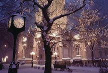 Winter wonderland / by Vicky Messam