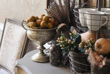 Fall Decor / Decorating Ideas For September, October, and November
