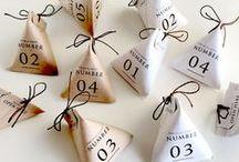 advent Calendar / julkalender / adventskalender / creative ideas for non-chocolate, non-supermarket  advent calendars you can make yourself