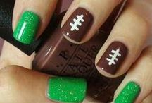 Super Bowl Nails / by Red Carpet Manicure