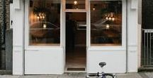 shops. cafes. storefronts. architecture. / storefronts and cafes around the world. architecture, tiny homes, modern homes, eco homes. and lots and lots of charming cafes. armchair travel. coffee around the world