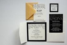 Wedding - Stationery. / #wedding #invitations #tablenumbers #escortcards