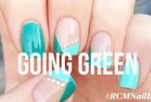 Green Nails / Nails that are bright, bold and green / by Red Carpet Manicure