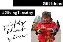 christmas gift ideas / christmas gift ideas that make a difference; charitable organizations and christmas gifts that matter