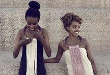 Inspiración africana / África es pura inspiración. Color, energía, positivismo y energía!